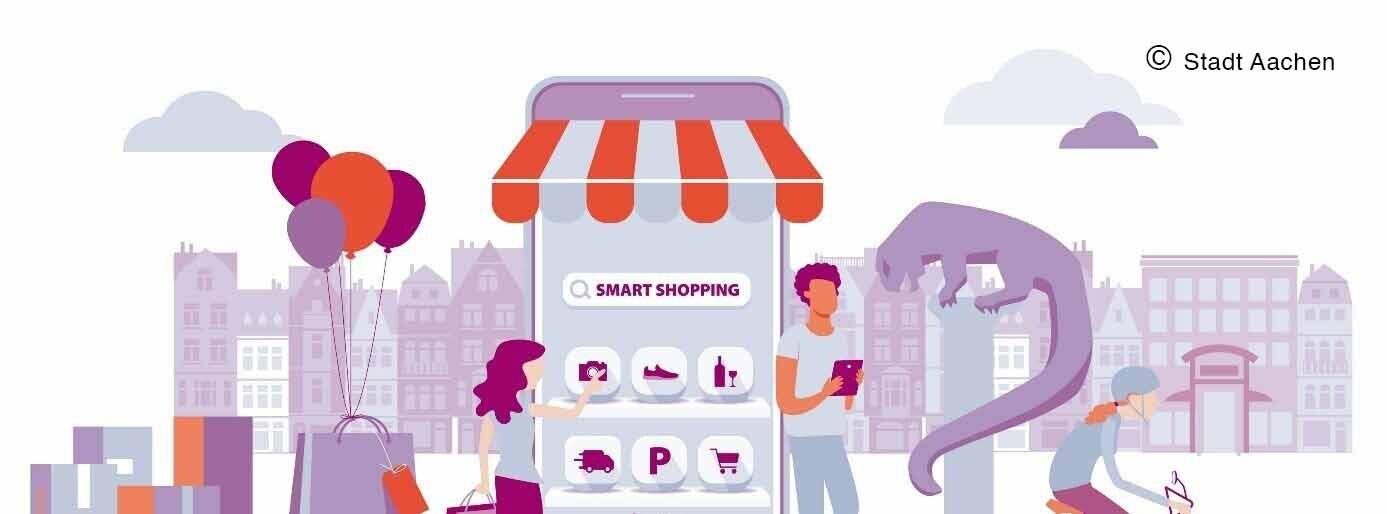 Hybrider Einzelhandel c Stadt Aachen