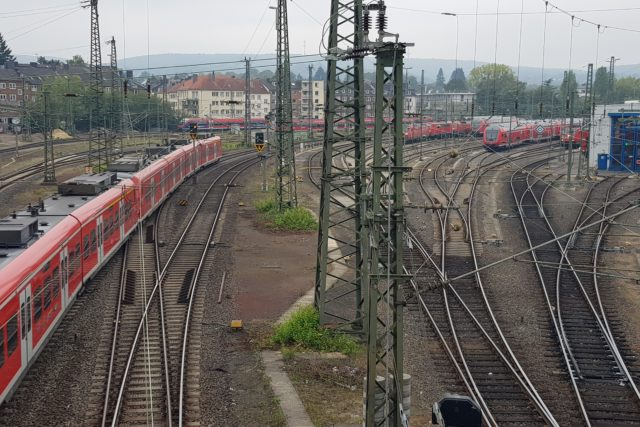 Foto Bahngleise Af