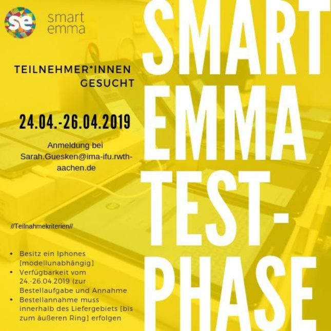 Smart Emma Testphase